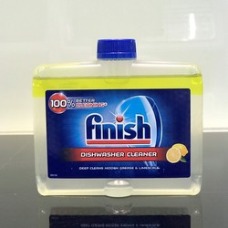 Vệ sinh máy rửa bát Finish mới nhất Dùng cho máy rửa bát. tặng 3 viên Finish Nhật