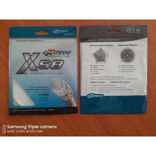 Dây cước đan vợt cầu lông Exthree X58 Chính hãng - Dây cước đan vợt Exthree X58 thumbnail