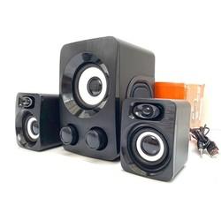 Bộ 3 Loa Máy Tính Vi Tính Cao Cấp Âm Bass Echo Hay - Nhỏ Gọn