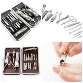 bộ làm móng tay chân -bộ làm móng tay chân đa năng 12 món-dụng cụ làm đẹp - bộ làm móng -l1