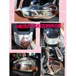 Bộ ốp trang trí inox 5 món xe Air blade 2020. 125-150