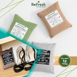 Túi than hoạt tính REFRESH-AIR lọc không khí diệt khuẩn khử mùi tủ giày dép