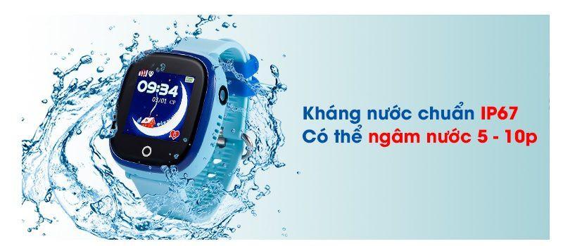 Đồng hồ định vị trẻ em Wonlex GW400X có Camera, chống nước IP67 - hình 12