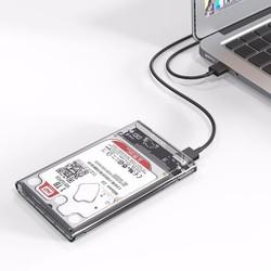 Box ổ cứng trong suốt HDD 2.5 chuẩn USB 3.0 thiết kế đẹp ORICO