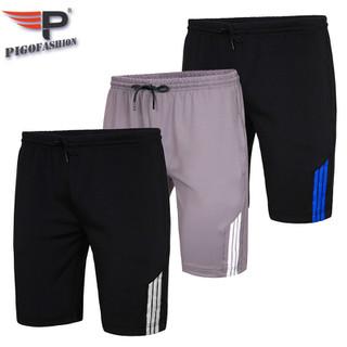 Quần Short nam thể thao thoáng mát phối sọc Pigofashion QTTN01 -01 chọn màu - QTTN01.fs02 thumbnail