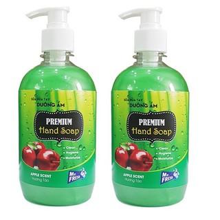 Bộ 2 chai sữa rửa tay tiệt trùng dưỡng ẩm Premium Hand Soap Mr Fresh Hàn Quốc 500ml - BH708 thumbnail