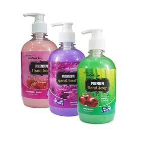Bộ 3 chai sữa rửa tay tiệt trùng dưỡng ẩm Premium Hand Soap Mr Fresh Hàn Quốc 500ml - BH709