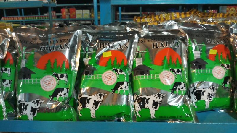 Sữa Bột Nguyên Kem Hai Con Bò Đỏ 500g - THỰC PHẨM DINH DƯỠNG - Sữa Bột - 11