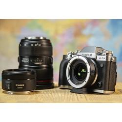 CÓ SẴN Ngàm Viltrox EF-FX2 071x Adapter For Canon EF-S To FUJIFILM , Dùng Lens Canon EF cho Body Fujifilm