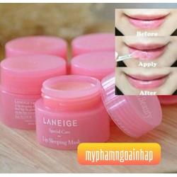 LE 45k Mặt nạ ngủ dành cho môi Laneige Lip 3g