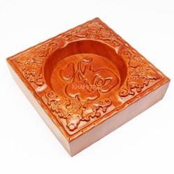 Gạt tàn thuốc gỗ hương nguyên khối