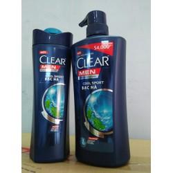 Combo 1 Clearmen gội vòi 650g + 1 Clearmen gội 370g