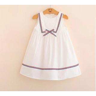 Váy thủy thủ bé gái 2-8 tuổi.Váy thô bé gái.Đầm hè bé gái.Váy sát nách bé gái - 298 thumbnail