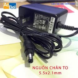 Bộ đổi nguồn 5V 2A adapter 5V-2A jack chân TO dùng cho TVBOX và các loại Đầu thu DVB-T2 cấp nguồn ngoài