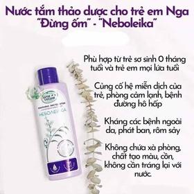 sữa tắm thảo dược chống cảm cúm cho bé Babkiny - hdbdbd