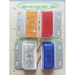 Đèn Led sườn xe tải SD4003 12v-24v. Đèn hông soi lốp ô tô