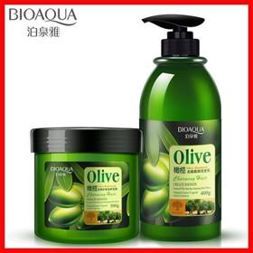 Bộ dầu gội xả tinh chất OLive - cặp gội xả olive