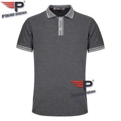 Áo thun nam cổ bẻ chuẩn mọi phong cách Pigofashion AHT22.3 chọn màu