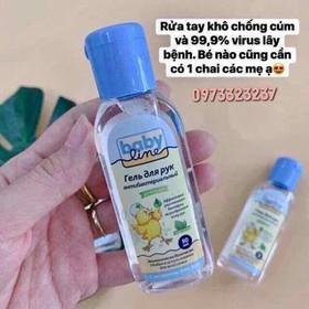 cồn tay khô cho trẻ em babyline  - ùvb