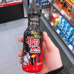 combo 2 chai nước sốt gà cay Samyang Hàn quốc vị truyền thống 200gram đen