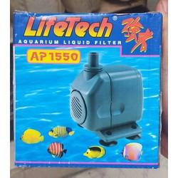 Máy Bơm Nước Hồ Cá LifeTech AP 1550 công suất 18W dùng cho hồ cá cảnh, hòn non bộ
