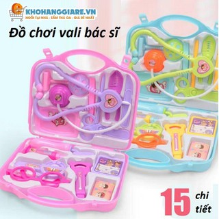 Đồ chơi vali bác sĩ 15 chi tiết, đồ chơi bác sĩ - Do-choi-bac-si thumbnail