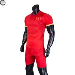 Bộ quần áo thể thao nam đá bóng cao cấp thời trang Everest đội tuyển Việt Nam 2020