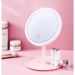 Gương trang điểm có đèn Led cảm ứng cao cấp quà tặng người yêu quà 8 - 3  Bởi asam