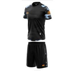 Đồ bộ quần áo thể thao bóng đá nam Camor màu Đen Thời trang Everest - Thun dày đẹp