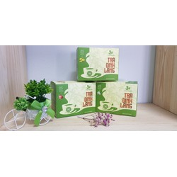 Trà Đinh Lăng THÁI HƯNG  (Hộp 25 túi lọc x 2,5g) - An thần, giảm stress - Combo 06 hộp
