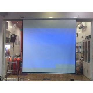 Màn chiếu điện 120 inch 2m44 x 1m83 - D120S thumbnail