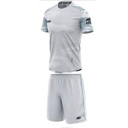 Đồ bộ quần áo thể thao bóng đá nam Camor màu Xám Thời trang Everest - Thun dày đẹp