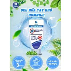 Gel rửa tay khô HUMNILE TUÝP 50ml không cần rửa lại bằng nước