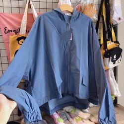 áo khoác dù nhẹ nữ 2 lớp canh dơi hàng thiết kế bán shop – bao chất vải