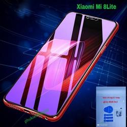 Kính cường lực Xiaomi Mi 8 Lite tím chống tia UV hại mắt