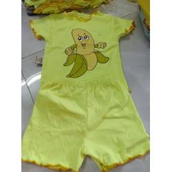 bộ đồ borip hình trái chuối