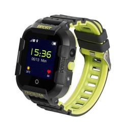 Đồng hồ định vị trẻ em Wonlex KT03 có camera, chống va đập kháng nước IP67 Đen