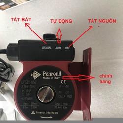 máy bơm áp lực nước nóng máy giặt
