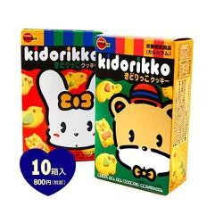 Bánh ăn dặm hình thú Kidorikko nội địa Nhật Bản