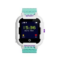 Đồng hồ định vị trẻ em Wonlex KT03 có camera, chống va đập kháng nước IP67 Xanh lá