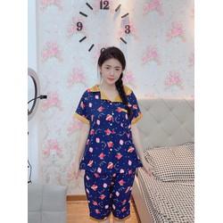 Đồ ngủ bigsize cao cấp mẫu Pyjama dưới 80kg trở xuống