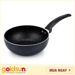 Chảo nhôm chống dính Goldsun GE520 IH