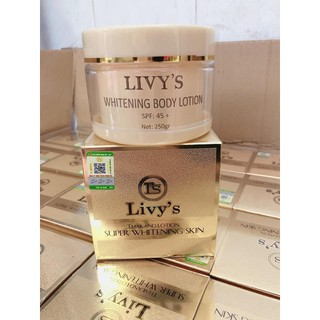 SALE KHỦNG - Kem Body Cao Cấp Livy s - Thailand Lotion Super Whitening Skin 250g - LIVYSV thumbnail