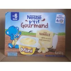 Váng sữa Nestle vị Vani 6x60g - Cho trẻ từ 6 tháng date T03.2021