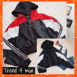 áo khoác lửng form rộng , áo khoác croptop 0004