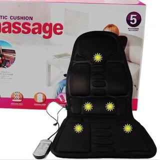Ghế massage toàn thân 8 vùng da Cao cấp trên ô tô hoặc tại nhà - ghế massage 8 bi - NMS thumbnail