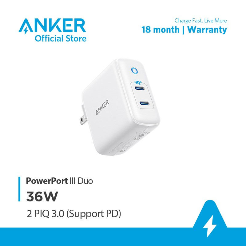Củ sạc Anker PowerPort Atom III Slim