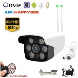 Camera IP Ngoài trời HAPPYSEE 2Mpx - FULL HD 1080P - QUAY ĐÊM CÓ MÀU