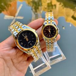 Tặng hộp + pin đồng hồ - Đồng hồ thời trang nam nữ Orlando dây Demi mẫu mới sang trọng