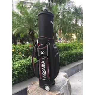 Túi gậy golf có bánh xe kéo hãng talormade, honma, titleist - Golf bag with wheels pulling talormade, honma, titleist - 40 thumbnail